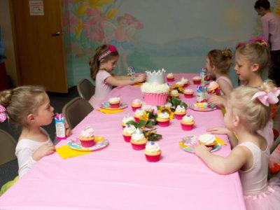 Ballet School Birthday Parties for Kids